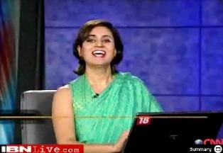 Sagarika Ghose wants to Rewrite the Purusha Sukta