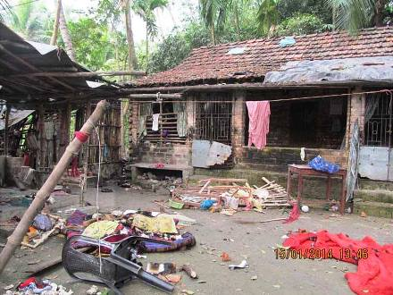 Suppressed News: Large-scale Muslim Violence against Hindus in Panchla