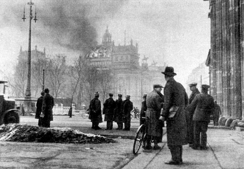 Reichstag Fire in the fight for free speech