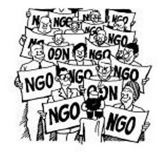 Ideas to combat destructive NGOs