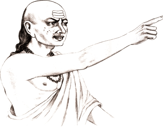 Acharya Chanakya's approach to knowledge