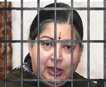 Nemesis knocks at Jayalalithaa's door