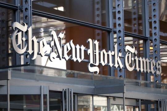 Dear New York Times: Look into your own backyard first