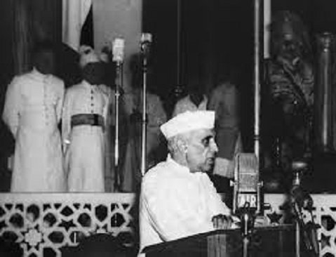 A twist to Nehru's Tryst