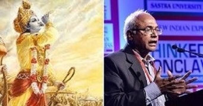 Kancha Ilaiah's incurable hatred of the Bhagavad Gita exposed