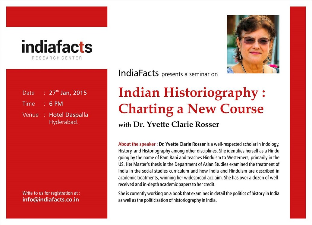 IndiaFacts Seminar on Indian Historiography