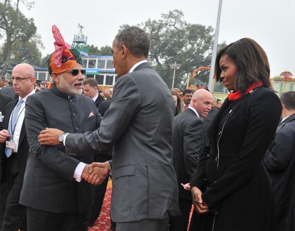 On Republic Day Modi's style under secular scanner