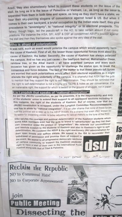 Kashmir Food Stall
