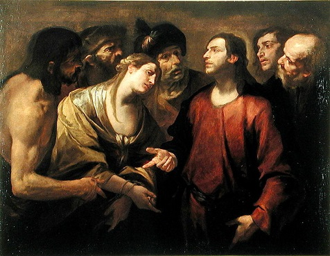 The Adulteress or the misogyny of Jesus Christ
