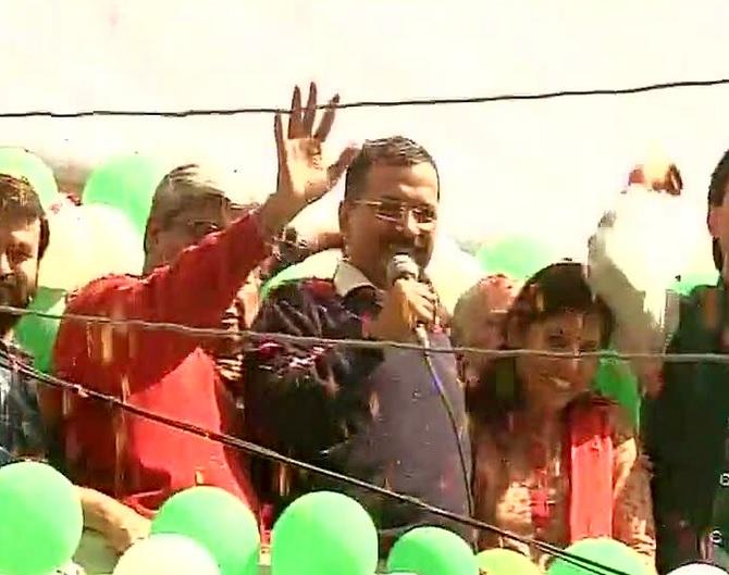 Media cheers AAP