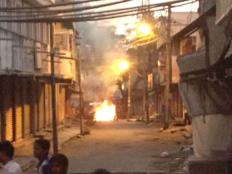 PFI goons unleash terror in Shivamogga