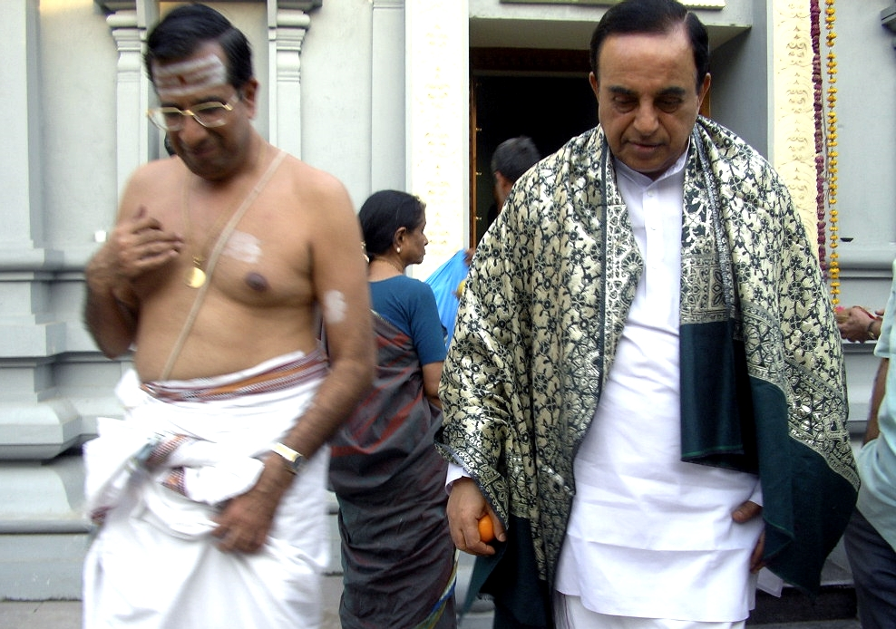 Subramanian Swamy: A Hindu fighter everyone fears