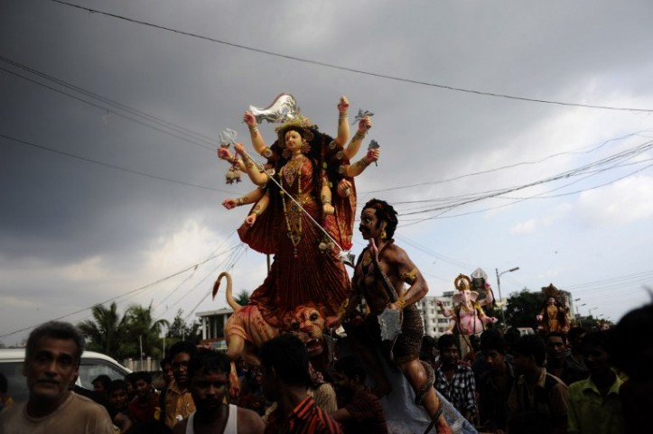 Indian Media's Selective Silence on Durga Desecration