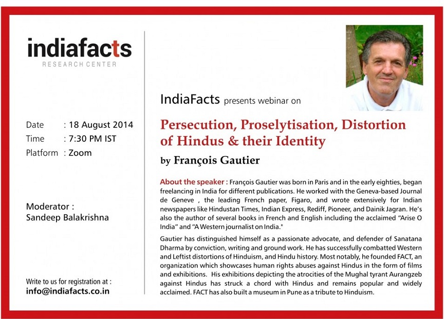 Video: Persecution,Proselytisation & Distortion of Hindus