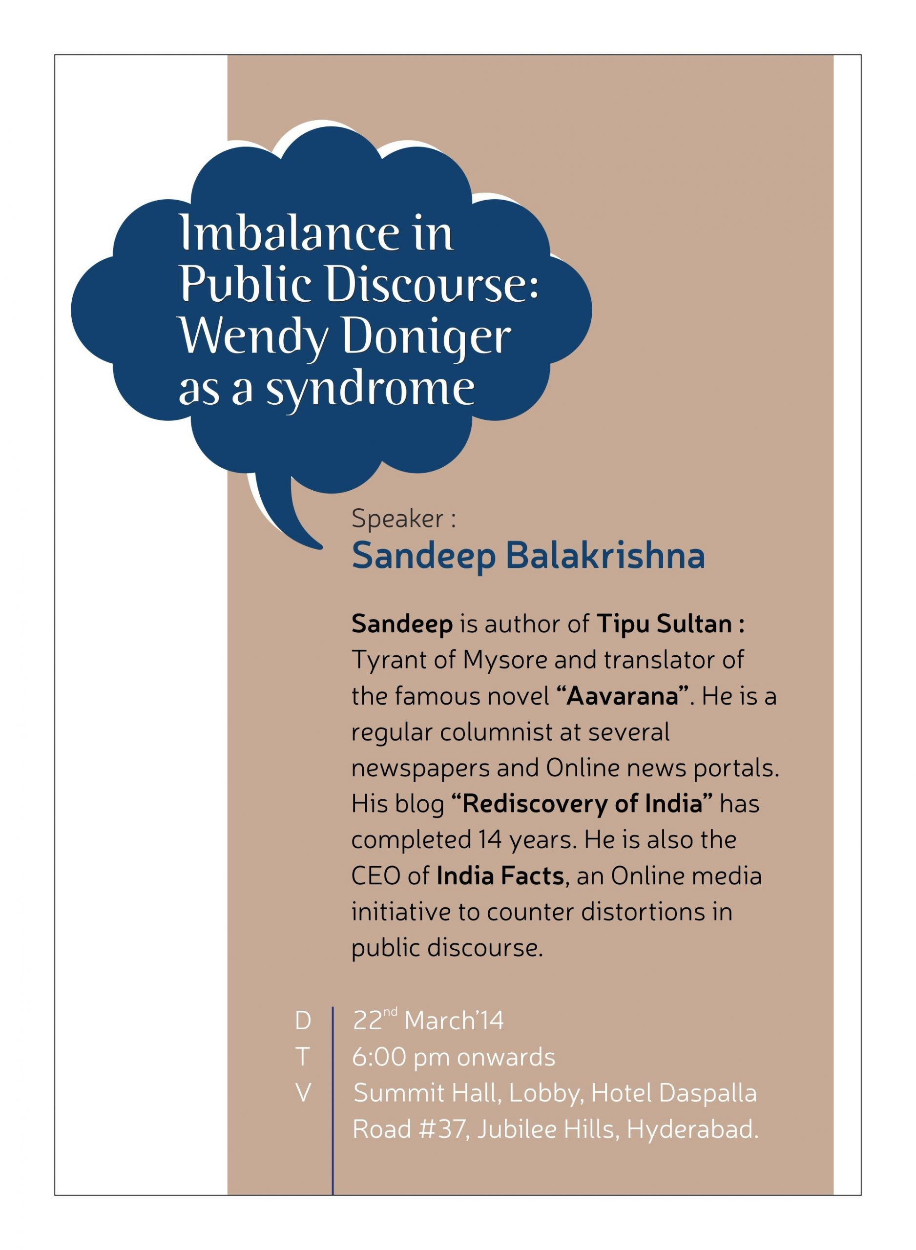 Seminar: Imbalance in Public Discourse