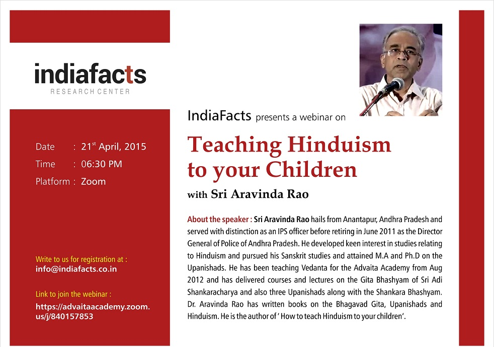 Teaching Hinduism to your children