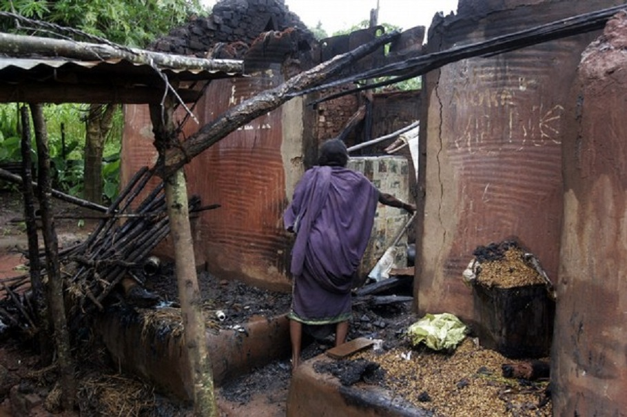 Muslims attack Hindu village at Gazipur