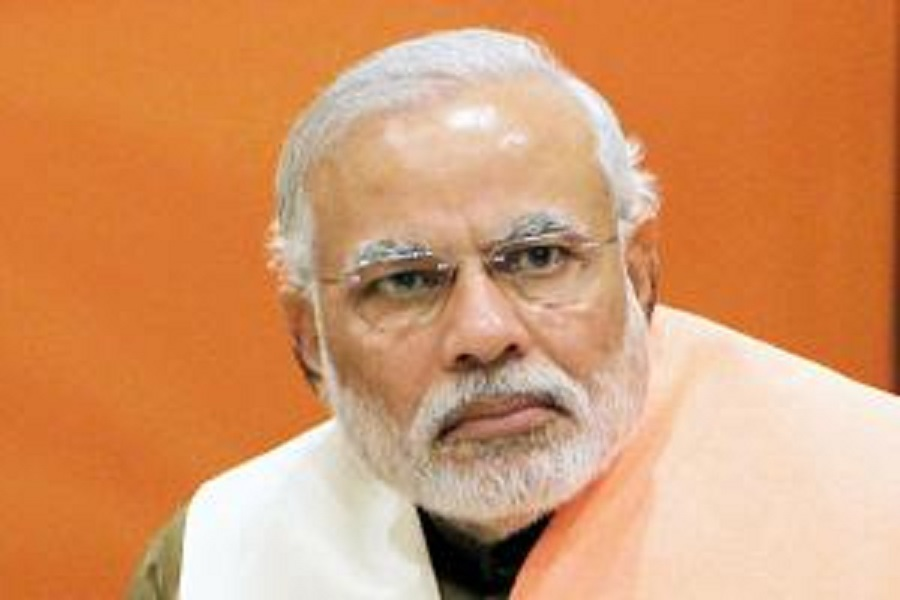 Narendra Modi stands between India's breakup