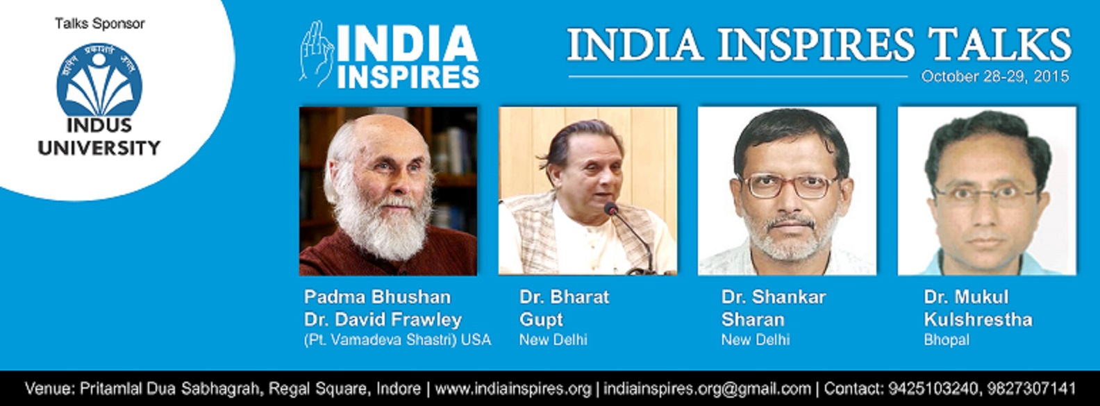 India Inspires Talks- Indian Civilization