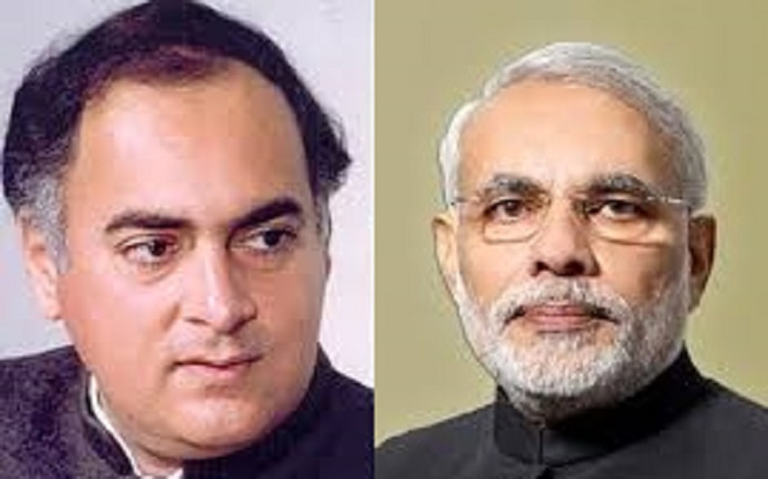 Rajiv and Narendra: A Tale of Two Mandates