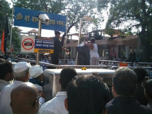 Stormtroopers At Shani Shingnapur