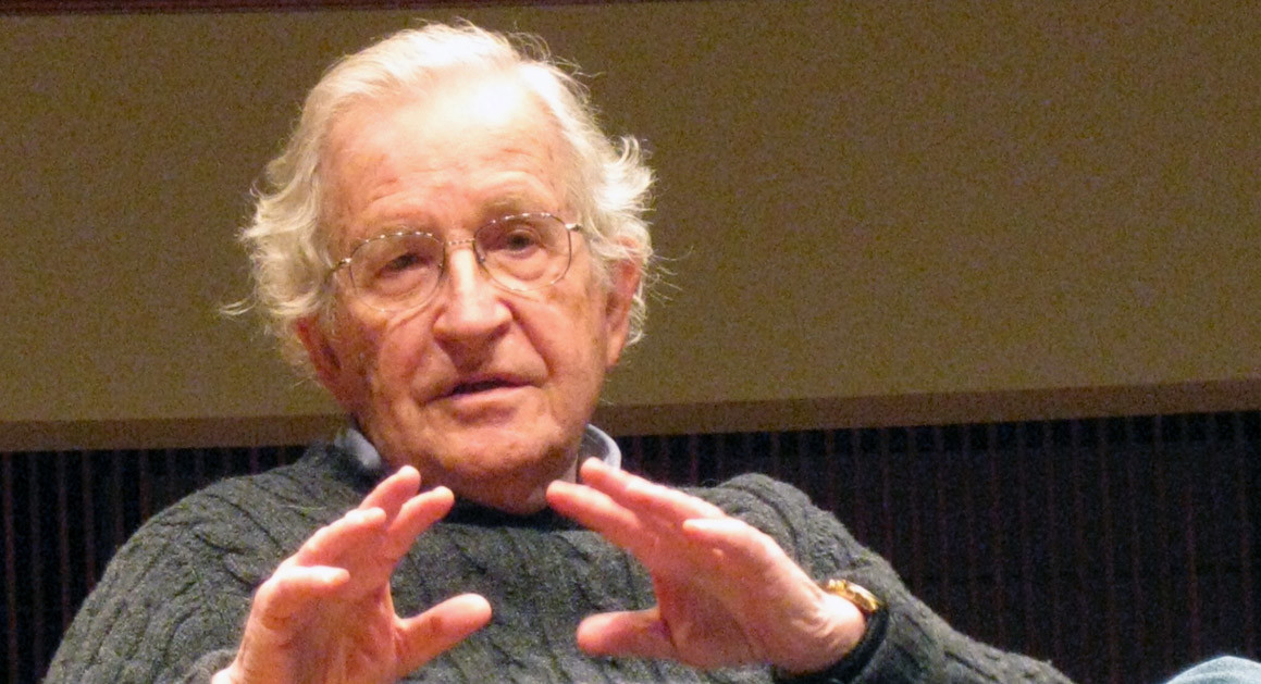 Just The Facts, Prof. Chomsky