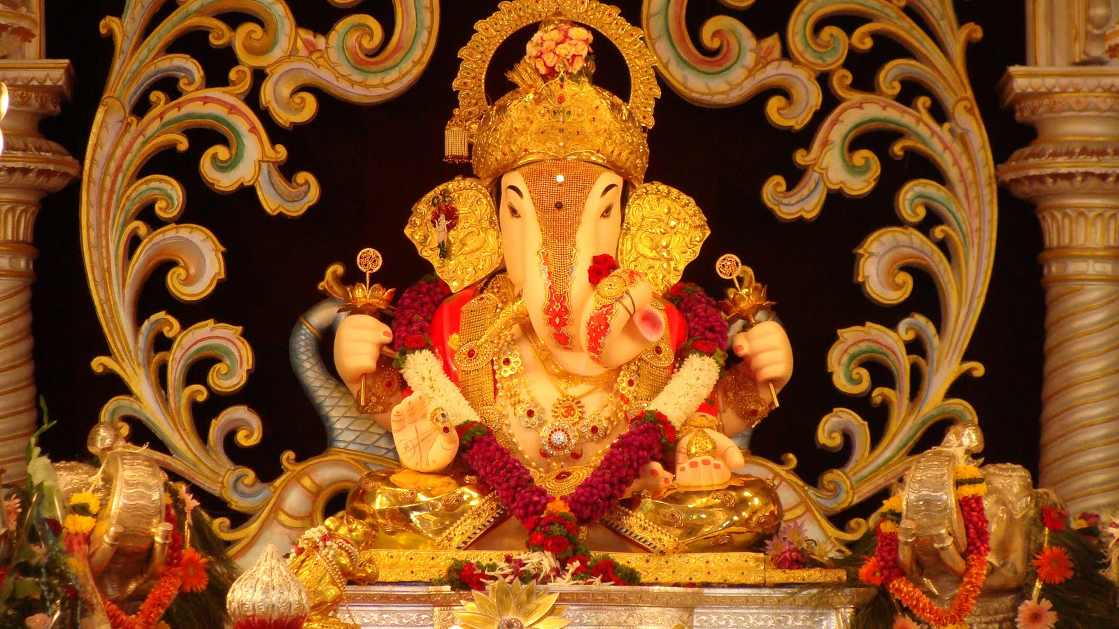 Why Offer Flowers And Fruits To Lord Ganesha?