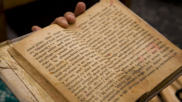 Language and Discourse: Why the issue is not merely about Sanskrit or English