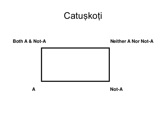 Chatuskoti: The four sided negation-I