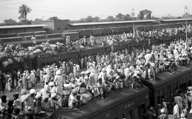 It was the British who divided India, the Muslims just played along