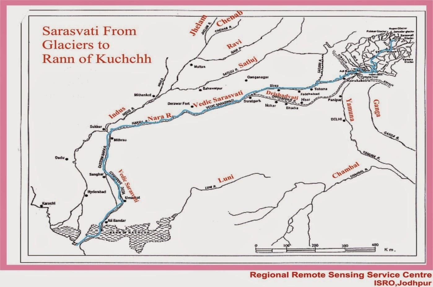 River Sarasvati as Eulogised in Rig Veda