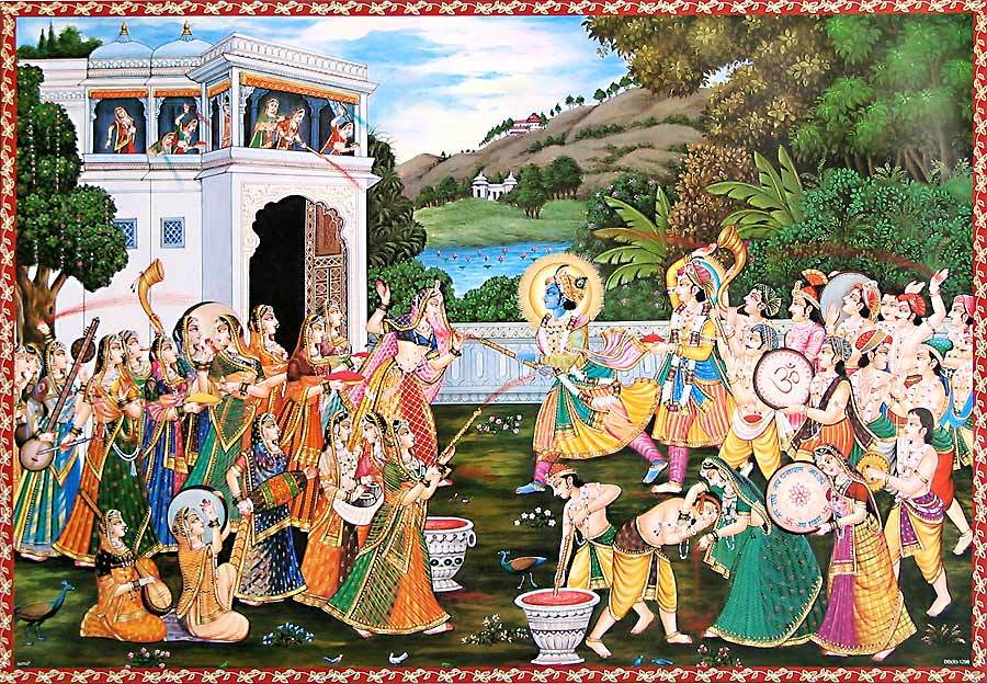 Holi as Kaamotsava: The age old Hindu festival of Love