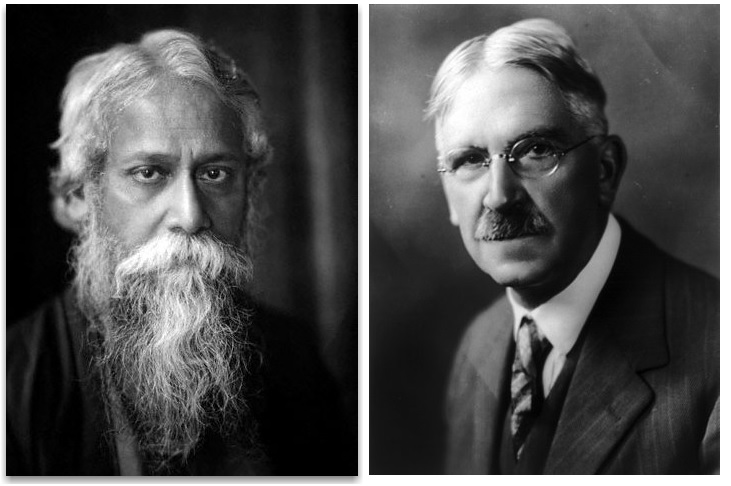 Pragmatic Poets: John Dewey & Rabindranath Tagore