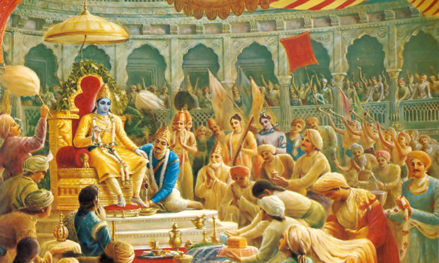 Relishing the 'Rasa' of Bhaagavatham