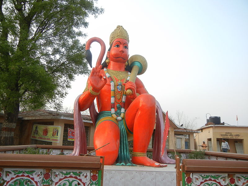Hanuman's Strength is Awesomeness not Militancy