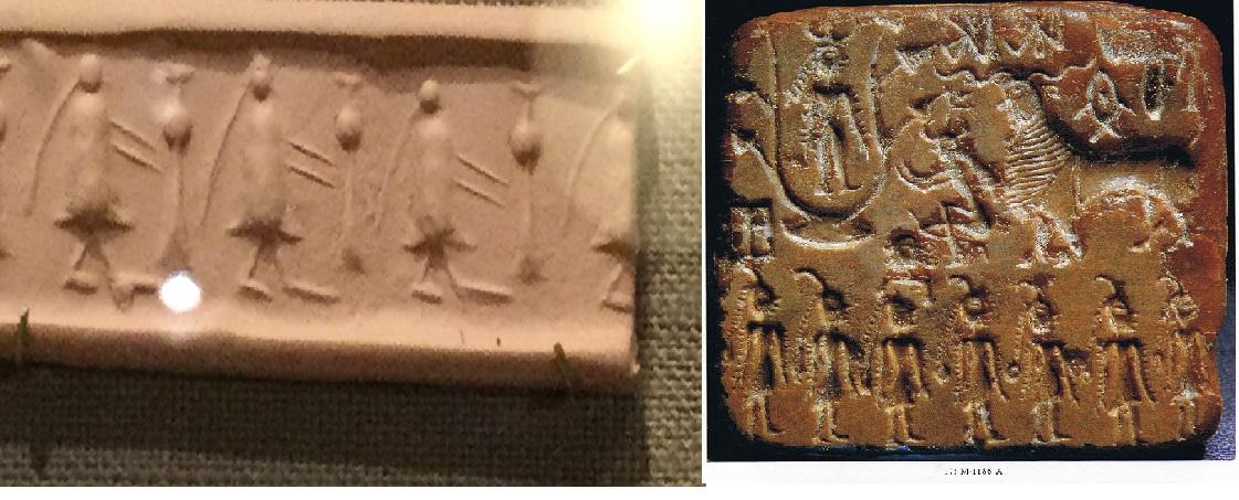 Hindu-like Gods in South Mesopotamia of early 2nd Millennium BCE- I