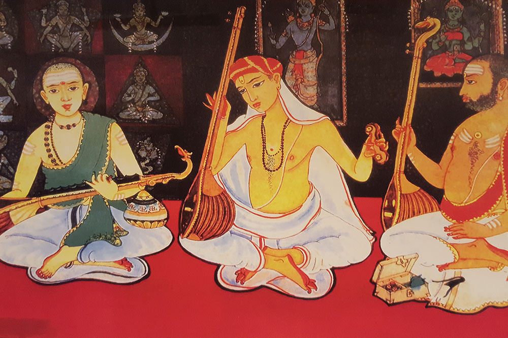 Critiquing the theory of 19th century Nationalist revival of Carnatic Music