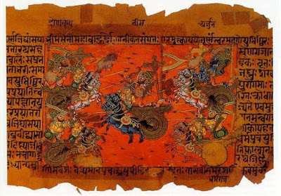 Tales from the Mahabharata – Black, White, and Coloured Too