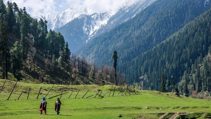 Kashmir – A survey of its history, geography  and demographic evolution