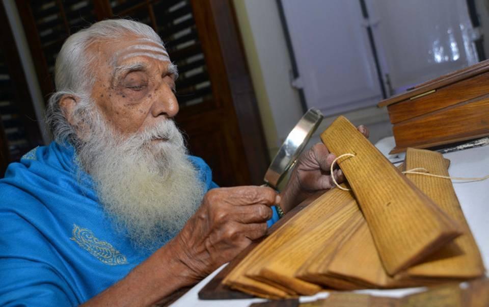 A Tireless Protector of Written Word: A tribute to Sri Sambandha Sivacharya