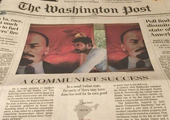 Washington Post doing a 'Deshabhimani of America'