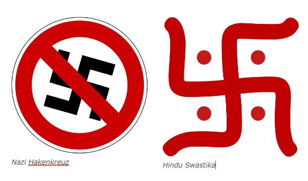 Lost in Mistranslation: Why the Hindu Swastika is nothing like the German Hakenkreuz